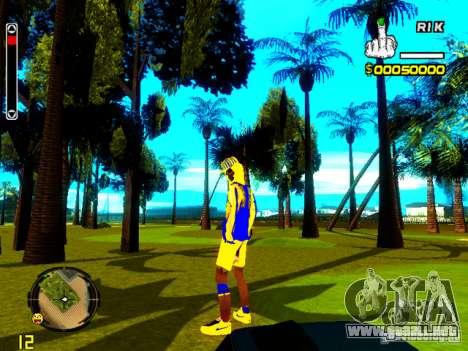 Piel vago v2 para GTA San Andreas quinta pantalla