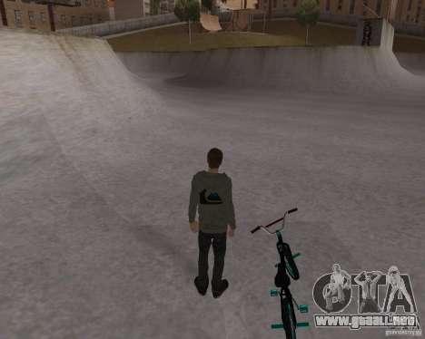 Tony Hawk para GTA San Andreas quinta pantalla
