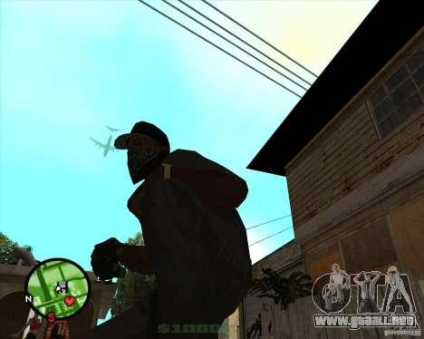 Dispositivo de visión nocturna Splinter Cell gaf para GTA San Andreas
