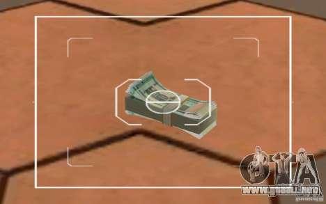 Nuevo dinero bielorruso para GTA San Andreas segunda pantalla