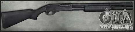 M870 Black para GTA San Andreas