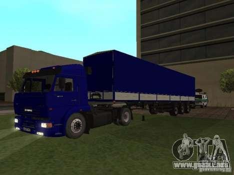 Trailer de los conductores de camión de serie para GTA San Andreas