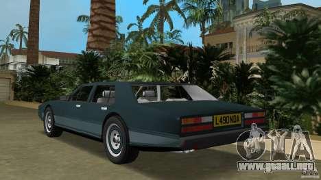 Aston Martin Lagonda (I) 5.3 (1976-1997) para GTA Vice City vista lateral izquierdo