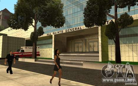 UGP Moscow New General Hospital para GTA San Andreas segunda pantalla