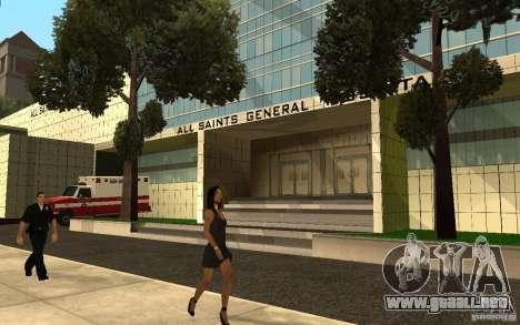 UGP Moscow New General Hospital para GTA San Andreas segunda pantalla