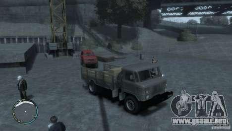 GAZ 66 para GTA 4 left