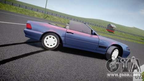 Mercedes-Benz SL500 para GTA 4 left
