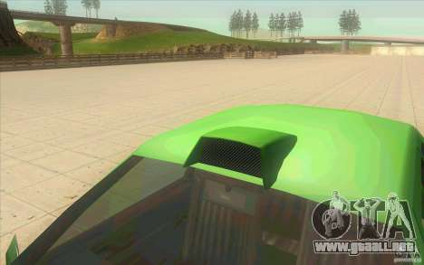 Mad Drivers New Tuning Parts para GTA San Andreas tercera pantalla