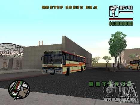 MARCOPOLO III SCANIA 112 para GTA San Andreas left