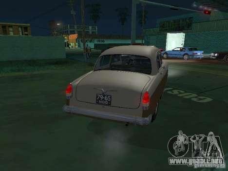 GAS M21T Taxi para la visión correcta GTA San Andreas
