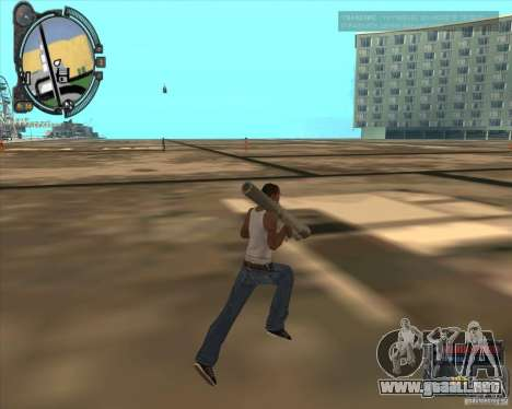 S.T.A.L.K.E.R. Call of Pripyat HUD for SA v1.0 para GTA San Andreas sexta pantalla