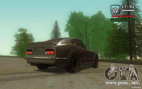 Datsun 240ZG para la visión correcta GTA San Andreas