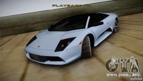 Lamborghini Murcielago Roadster para GTA San Andreas