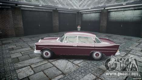Mercedes Benz W111 Final para GTA 4 vista lateral