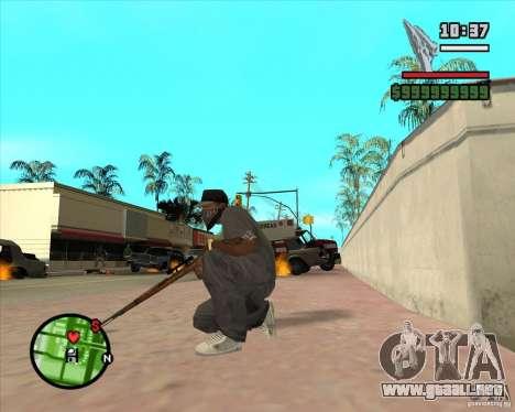 K98 para GTA San Andreas tercera pantalla