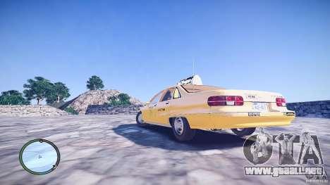 Chevrolet Caprice Taxi para GTA 4 left