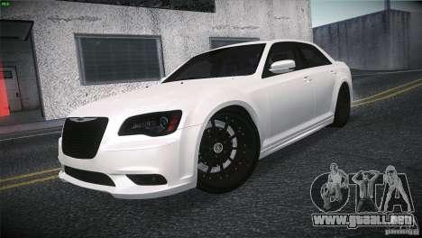 Chrysler 300 SRT8 2012 para la visión correcta GTA San Andreas
