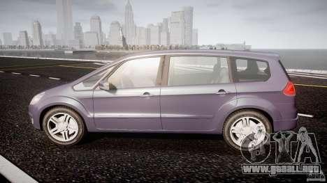Ford Galaxy S-Max para GTA 4 left