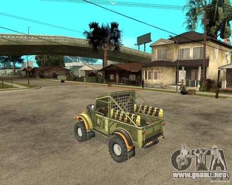 GAZ 69 juicio para GTA San Andreas left