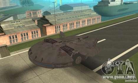 Millenium Falcon! para GTA San Andreas left