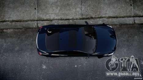 Infiniti G37 Coupe Sport para GTA 4 vista interior
