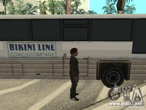 Línea de autobús en Las Venturas para GTA San Andreas décimo de pantalla