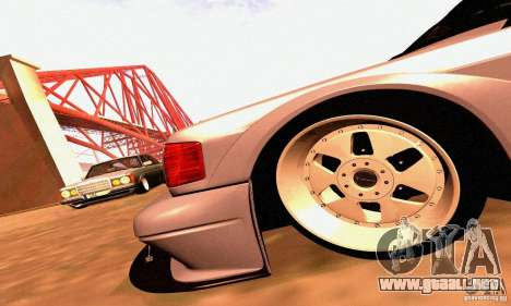 Mercedes-Benz 190E Drift para vista lateral GTA San Andreas
