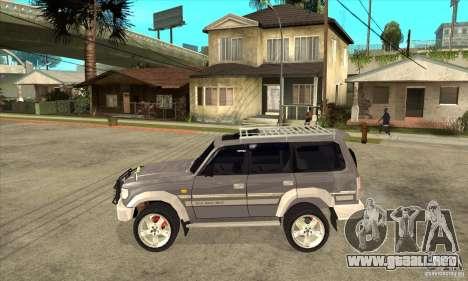 Toyota Land Cruiser 80 para GTA San Andreas left