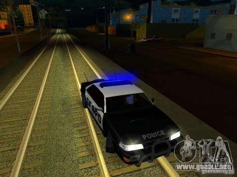 San-Fierro Sultan Copcar para la vista superior GTA San Andreas