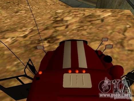 Fuego de Ural 5557-40 para la visión correcta GTA San Andreas