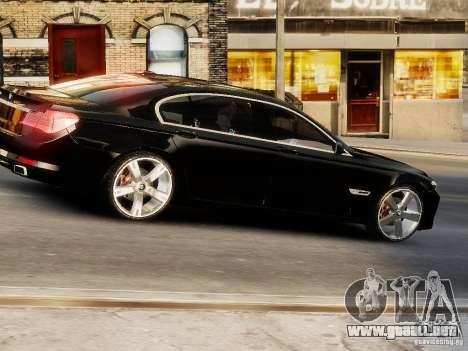 BMW 750 LI 2010 para GTA 4 visión correcta