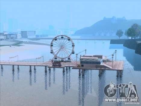ENB Series v1.5 Realistic para GTA San Andreas décimo de pantalla