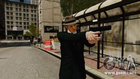 Cole Phelps para GTA 4 adelante de pantalla