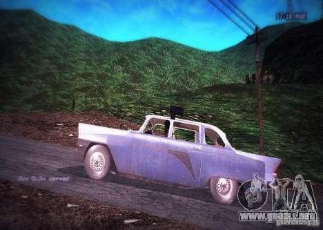 Policía de gas 13 Cuba para GTA San Andreas left
