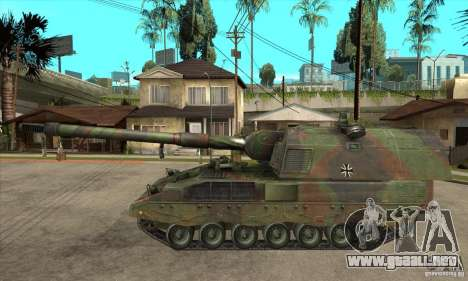 Panzerhaubitze 2000 para GTA San Andreas left