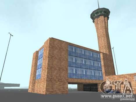 New Airport San Fierro para GTA San Andreas quinta pantalla