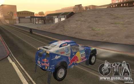 Volkswagen Race Touareg para la visión correcta GTA San Andreas