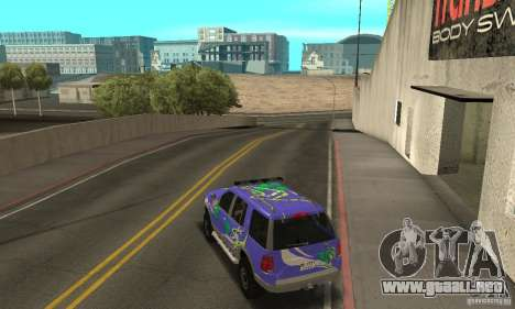 Ford Explorer 2002 para GTA San Andreas interior