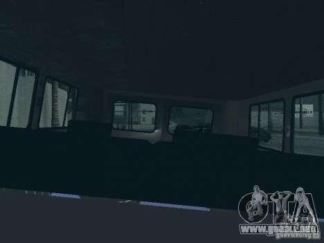 2206 UAZ para GTA San Andreas interior