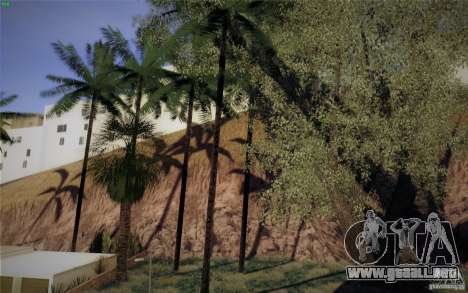 CreatorCreatureSpores Graphics Enhancement para GTA San Andreas quinta pantalla