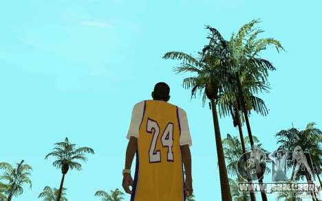 Afro-American HD skin para GTA San Andreas sucesivamente de pantalla
