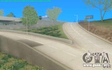 Caminos concretos de Los Santos Beta para GTA San Andreas segunda pantalla