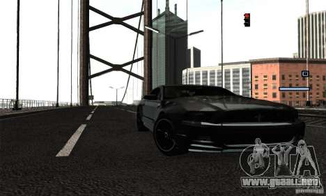 ENB Series 2013 HD by MR para GTA San Andreas quinta pantalla