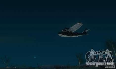 PBY Catalina para GTA San Andreas vista posterior izquierda