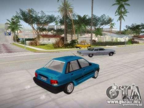 Kia Pride 131 para GTA San Andreas left
