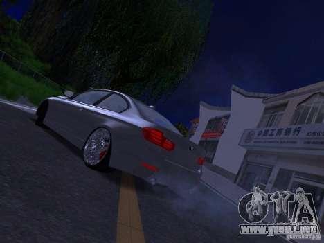 BMW 335i F30 Coupe para GTA San Andreas left