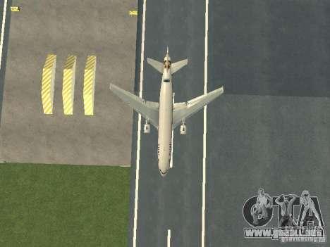 McDonell Douglas  DC 10 Thai Airways para visión interna GTA San Andreas