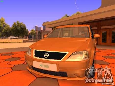 Nissan NP200 para GTA San Andreas left