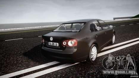 Volkswagen Jetta 2008 para GTA 4 vista lateral