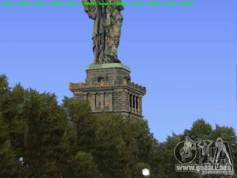 Estatua de la libertad de 2013 para GTA San Andreas tercera pantalla